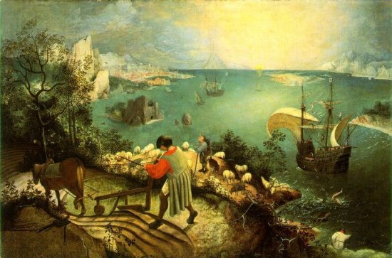 Landscape with the Fall of Icarus (Brueghel)