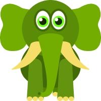 animal clipart elephant