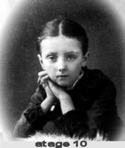 Lucy Maud Montgomery at age 10