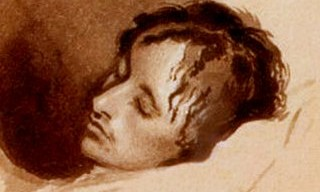 Keats on his deathbed