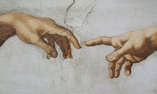 detail: The Creation, Michelangelo