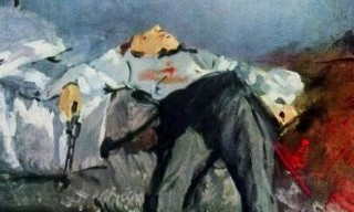 suicide painting by Manet