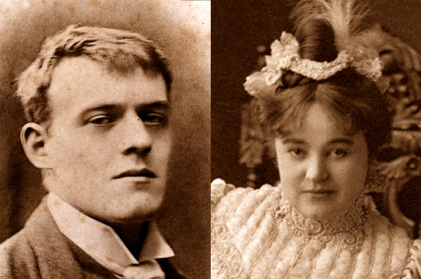 Hilaire Belloc and his wife, Elodie