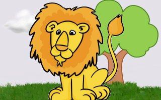 backyard lion