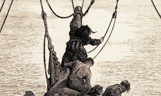 Ancient Mariner: sailors tormented by thirst