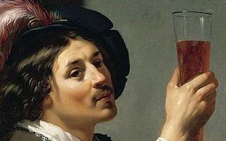 Young Man Drinking Wine (van Bijlert)