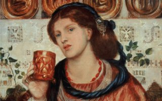 The Loving Cup by Dante Rossetti