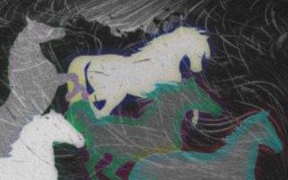 Night Storm Horse Herd