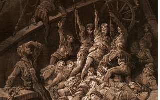 Ancient Mariner - the crew rises up