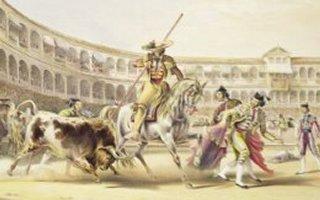 Bull Charging a Picador, 1865